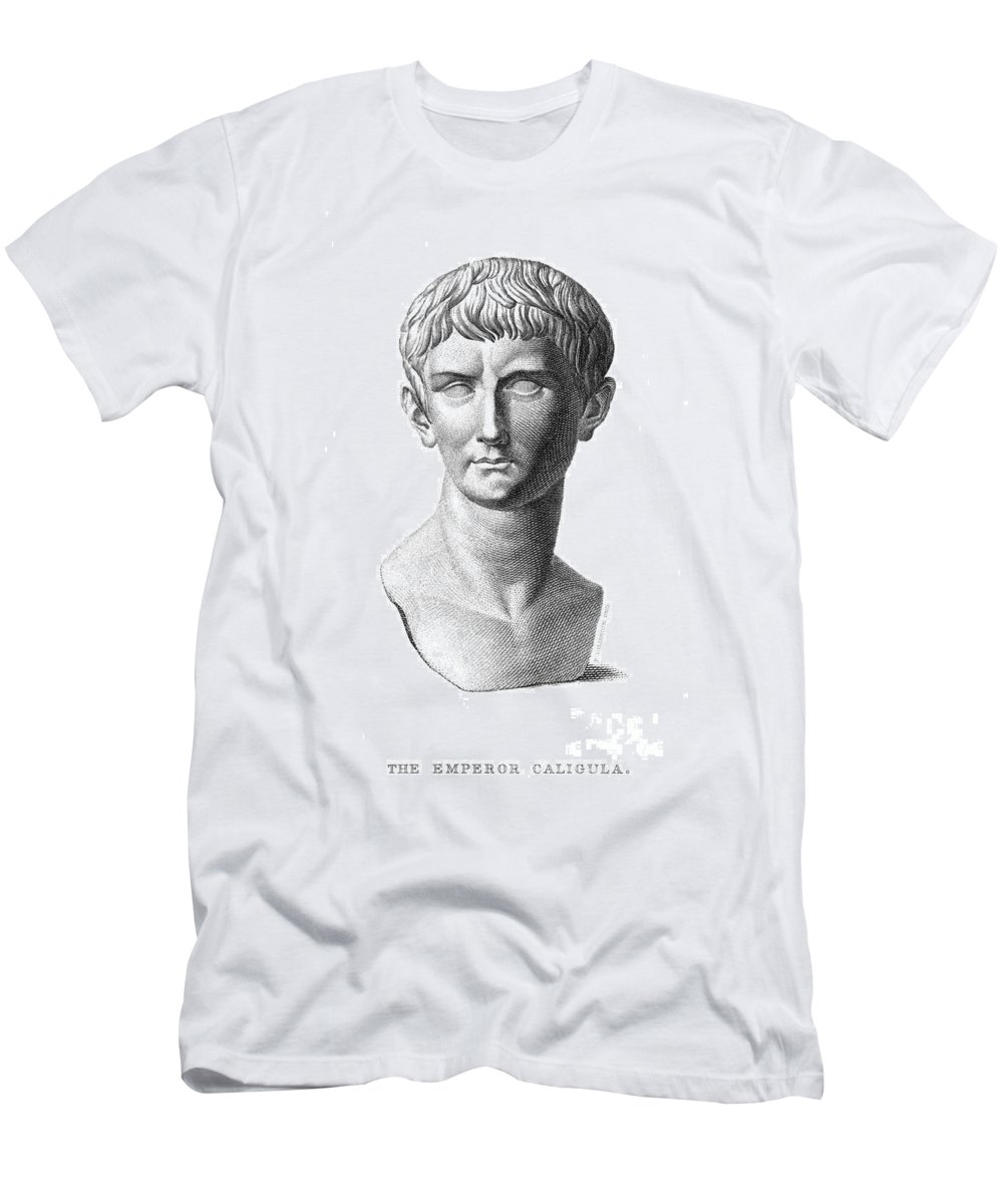 1st Century Men's T-Shirt (Athletic Fit) featuring the photograph Caligula (12-41 A.d.) by Granger