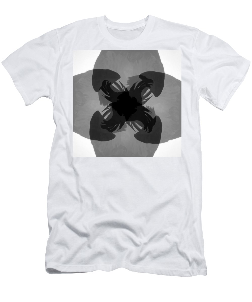 Raptor Men's T-Shirt (Athletic Fit) featuring the photograph Call Of The Raptors by David Lee Thompson
