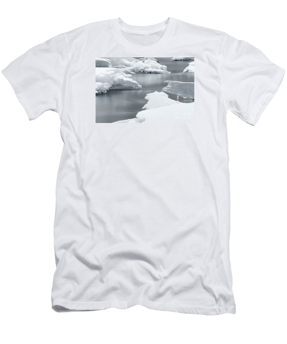 Winter Men's T-Shirt (Athletic Fit) featuring the photograph Tranquility by Mellissa Ray