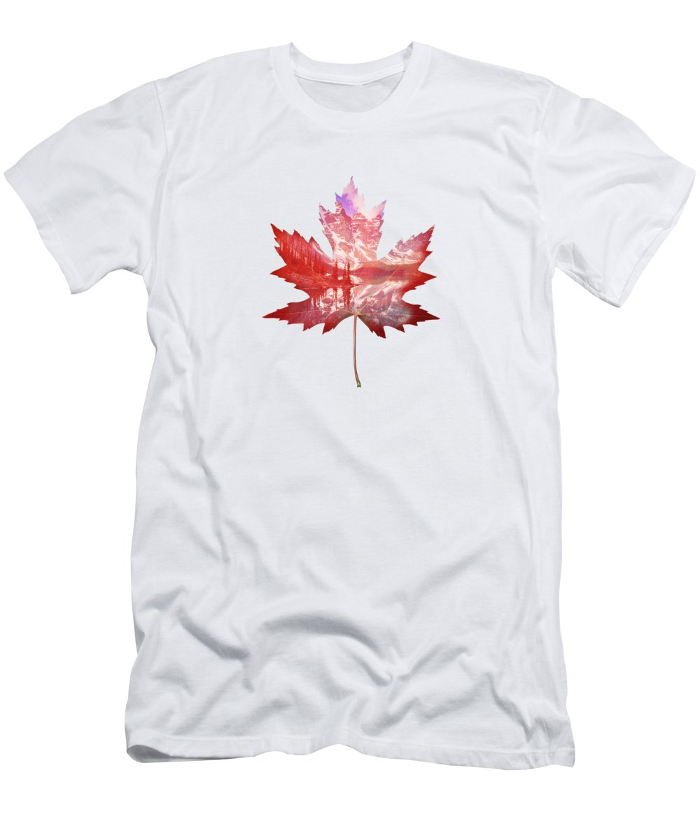 Maple Leaf Art T-Shirts