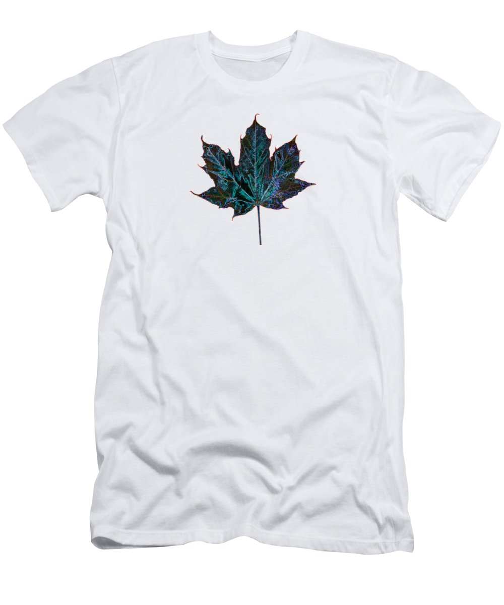 Canada Men's T-Shirt (Athletic Fit) featuring the photograph Canadian Diversity Maple Leaf by Marlin and Laura Hum