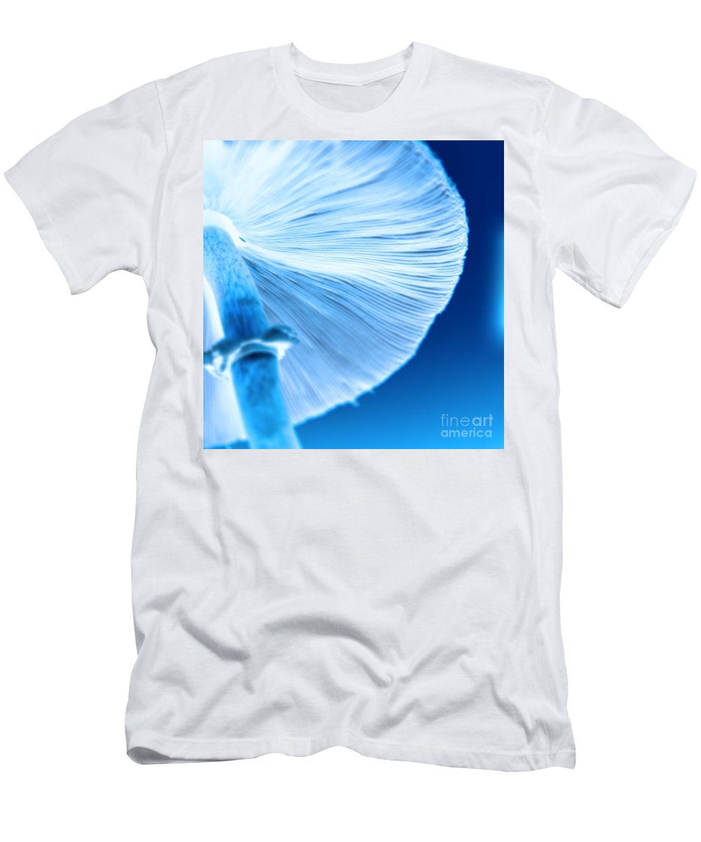 Mushrooms Men's T-Shirt (Athletic Fit) featuring the photograph Captastic by Amanda Barcon