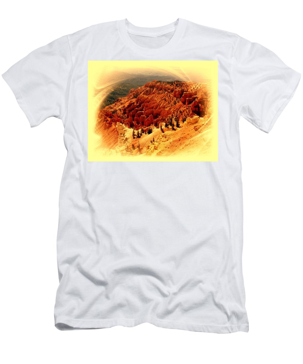 Cedar Breaks Men's T-Shirt (Athletic Fit) featuring the photograph Cedar Breaks 2 by Marty Koch