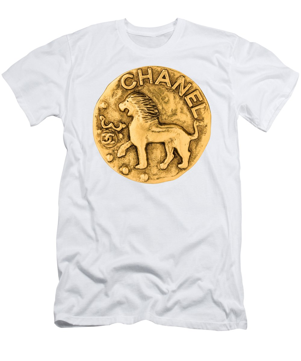 Chanel T-Shirt featuring the painting Chanel Jewelry-1 by Nikita