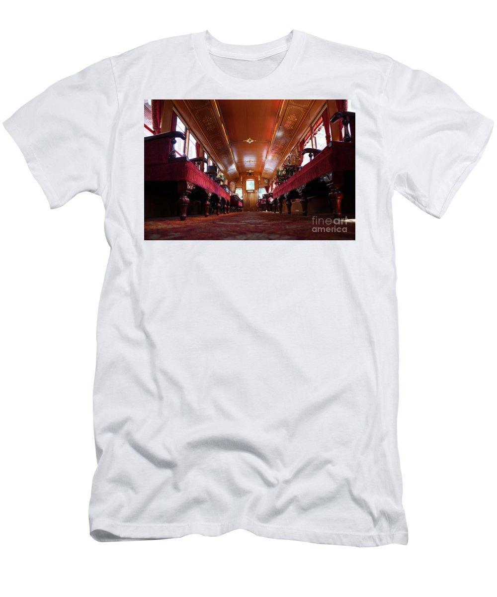 Disneyland Men's T-Shirt (Athletic Fit) featuring the photograph Choo-choo by Disneylandrea