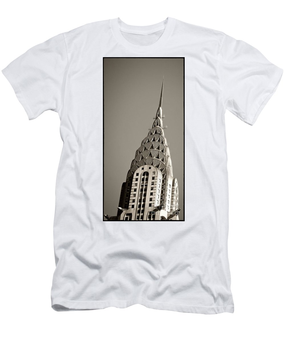 Chrysler Buidling T-Shirt featuring the photograph Chrysler Building New York City by Juergen Held
