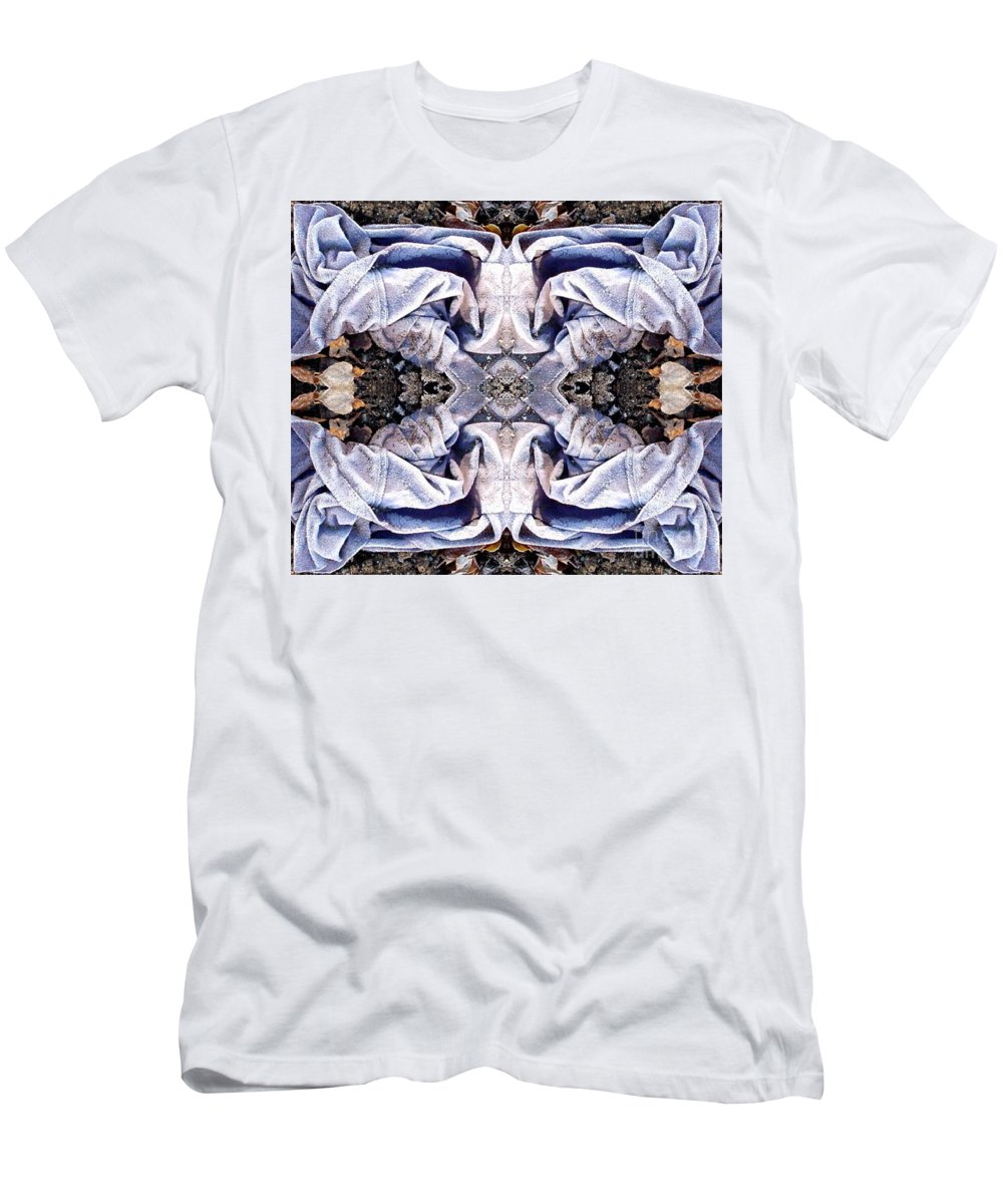 Abstract Men's T-Shirt (Athletic Fit) featuring the digital art Church Clothing by Ron Bissett