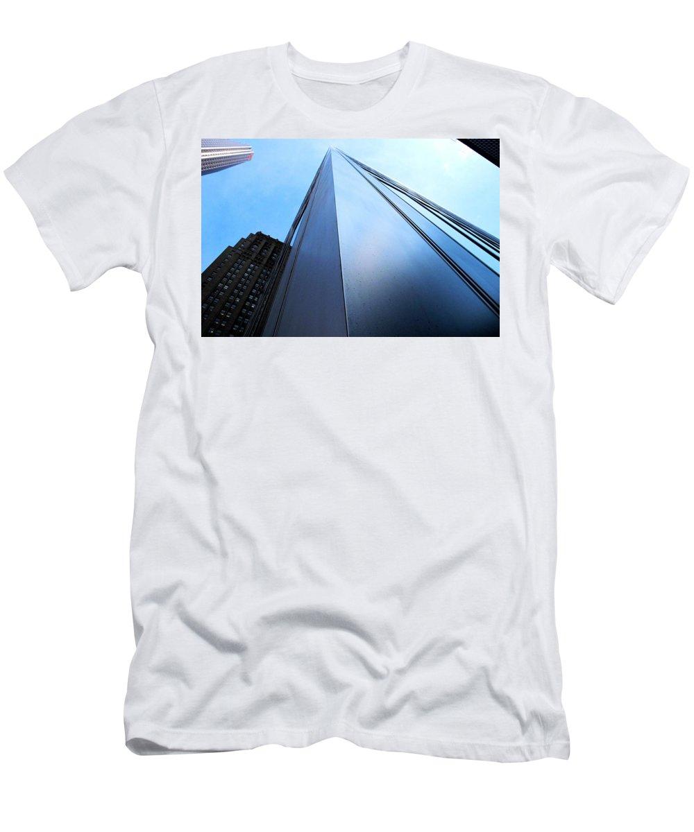 Cibc Men's T-Shirt (Athletic Fit) featuring the photograph Cibc by Ian MacDonald