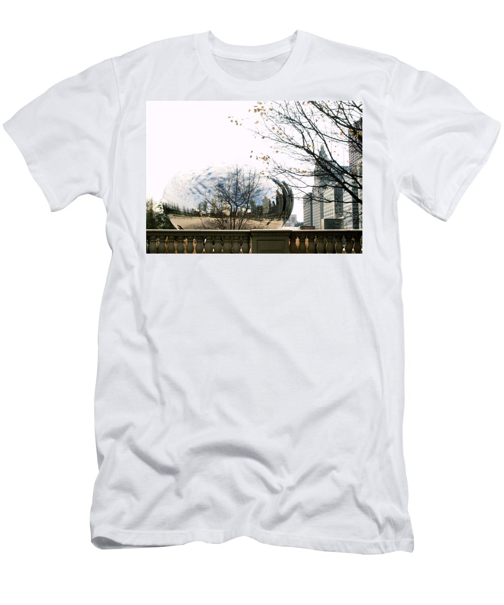 Chicago T-Shirt featuring the photograph Cloud Gate - 1 by Ely Arsha