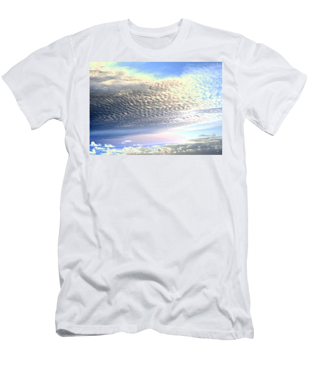 Sky Men's T-Shirt (Athletic Fit) featuring the photograph Cloud Nine 5 by Will Borden