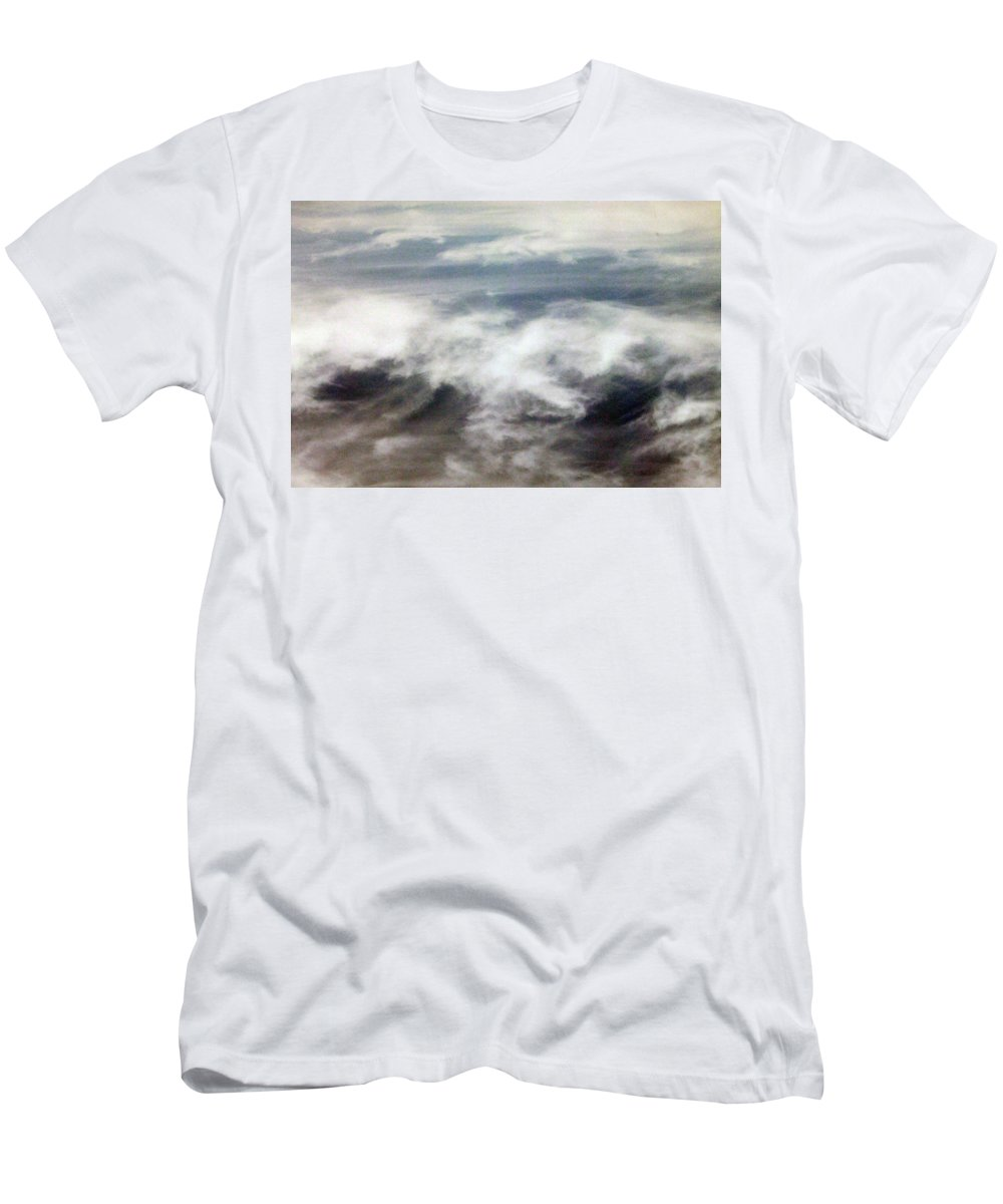 Cloud Men's T-Shirt (Athletic Fit) featuring the photograph Clouds Tides by Munir Alawi
