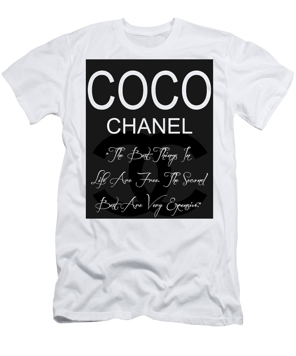 bb833f5118d86 Coco Chanel Quote 3 Men's T-Shirt (Athletic Fit)