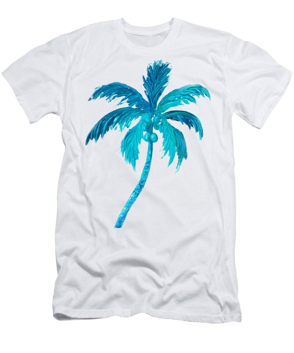 4a775d3c19 Coconut Palm Tree Men's T-Shirt (Athletic Fit)