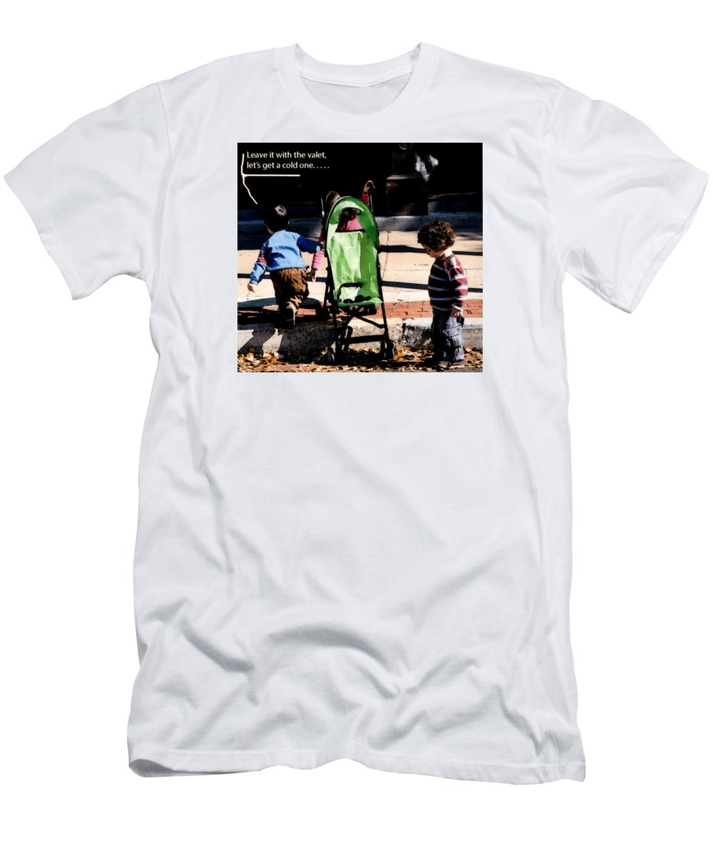 Youngsters T-Shirt featuring the photograph Cold One by Leon Hollins III
