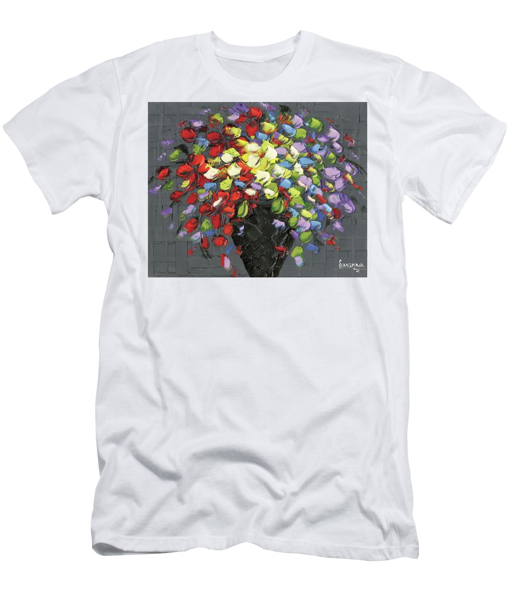 Men's T-Shirt (Athletic Fit) featuring the photograph Color Me Happy by Susanna Shaposhnikova