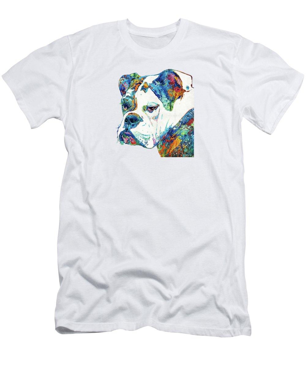 English Bulldog Paintings T-Shirts