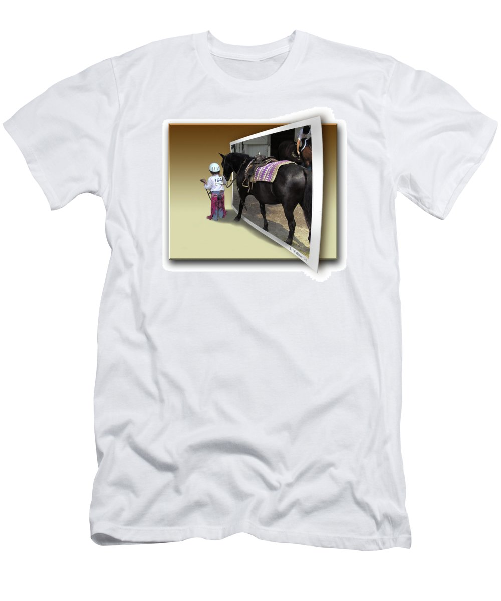2d Men's T-Shirt (Athletic Fit) featuring the photograph Come With Me by Brian Wallace
