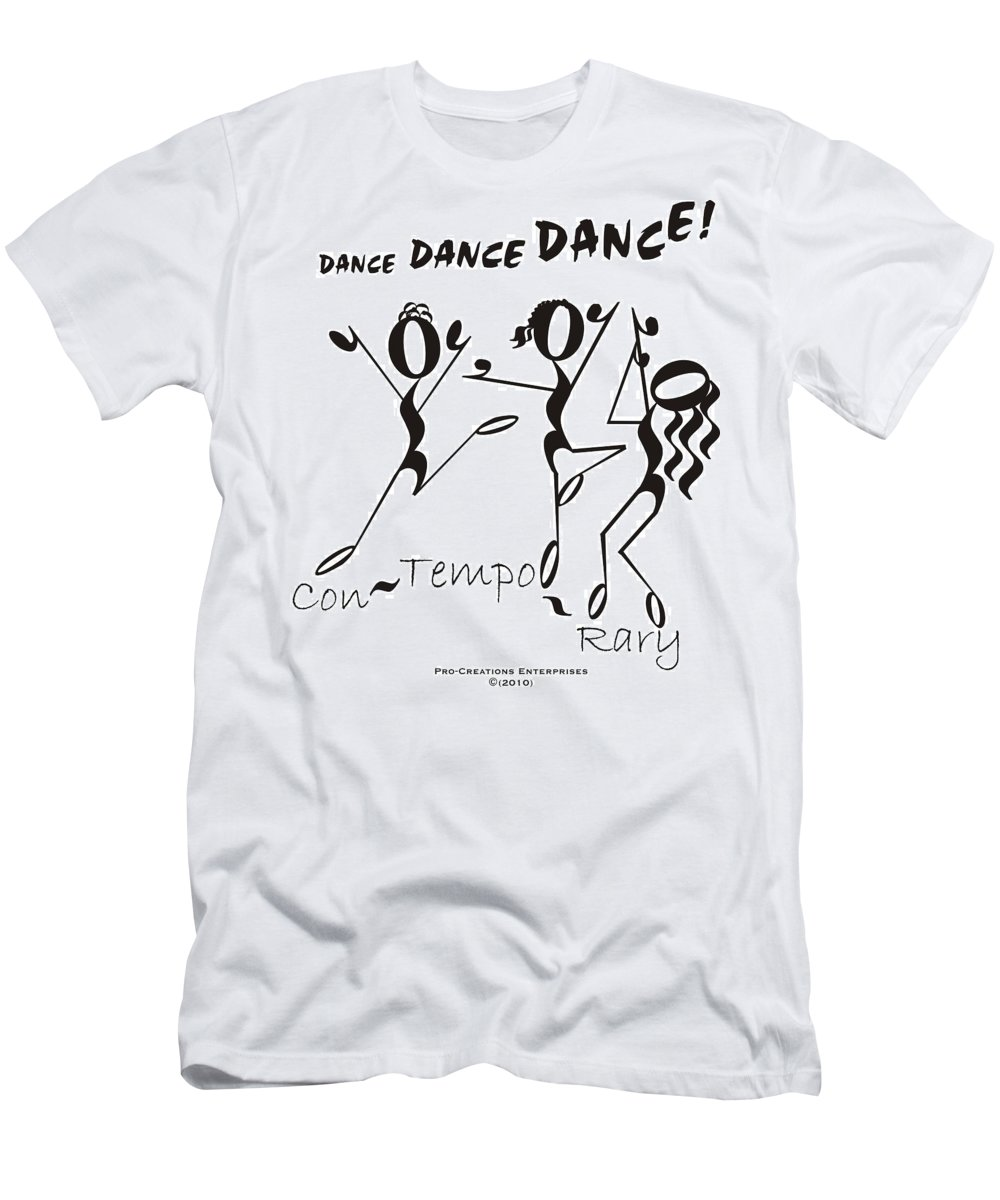 Digital Men's T-Shirt (Athletic Fit) featuring the digital art Con-tempo-rary by Maria Watt