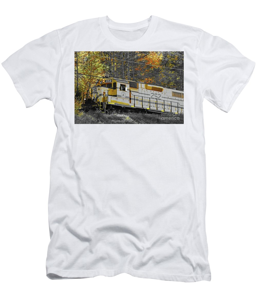Conway Scenic 252 Men's T-Shirt (Athletic Fit) featuring the photograph Conway Scenic 252 by Patti Whitten
