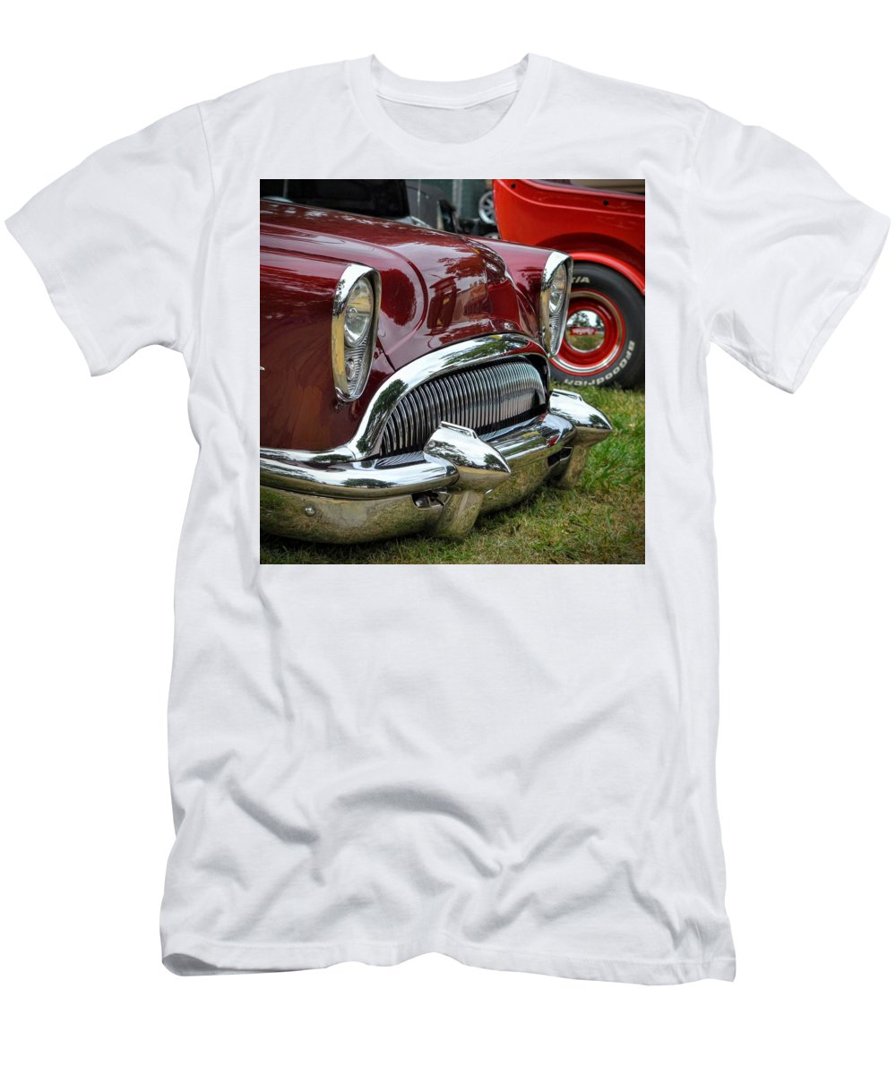 Chrome Men's T-Shirt (Athletic Fit) featuring the photograph Cool Ride by Dean Ferreira