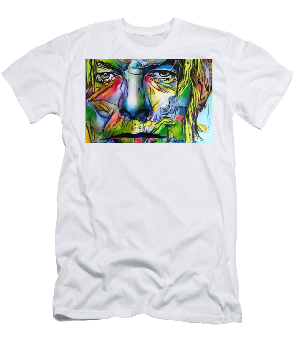 David Bowie T-Shirt featuring the painting David Bowie by Eric Dee