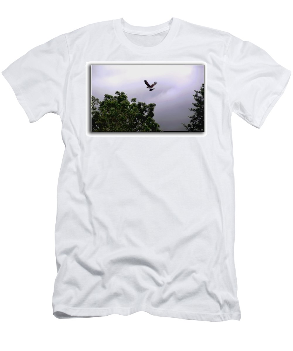 2d Men's T-Shirt (Athletic Fit) featuring the photograph Dinner by Brian Wallace