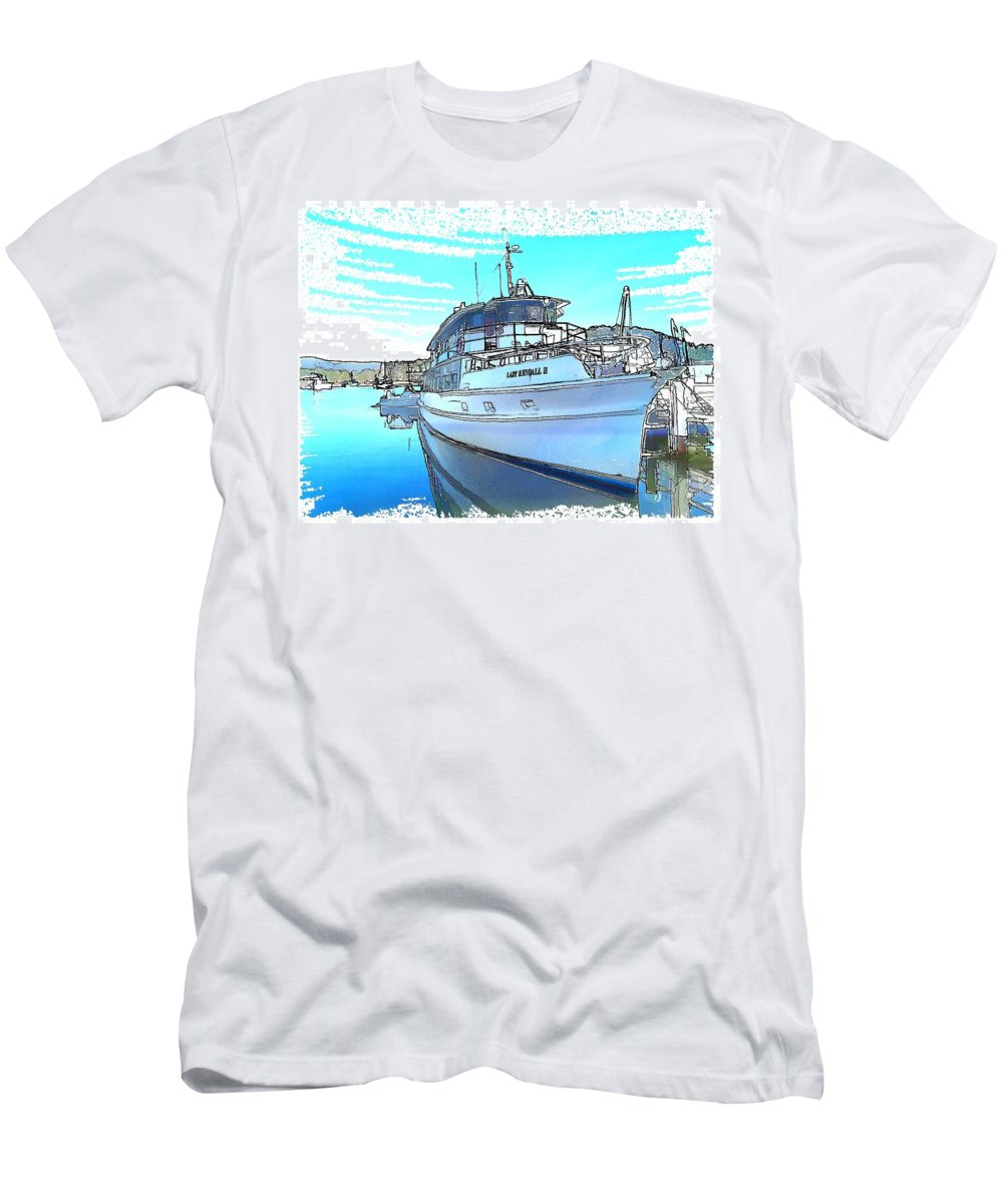 Lady Kendall Men's T-Shirt (Athletic Fit) featuring the photograph Do-0149 Lady Kendall by Digital Oil