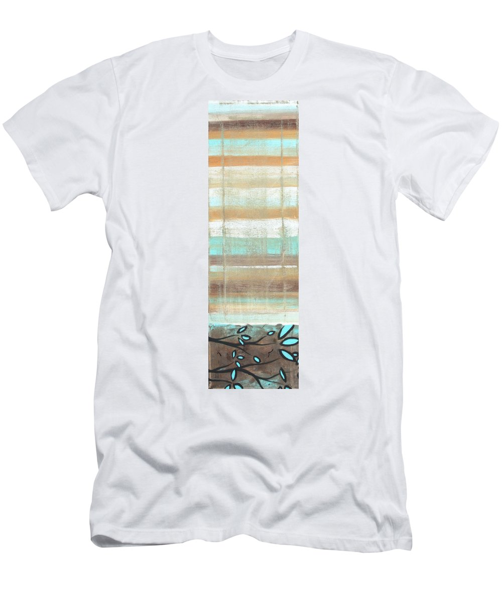 Wall Men's T-Shirt (Athletic Fit) featuring the painting Dream State II By Madart by Megan Duncanson