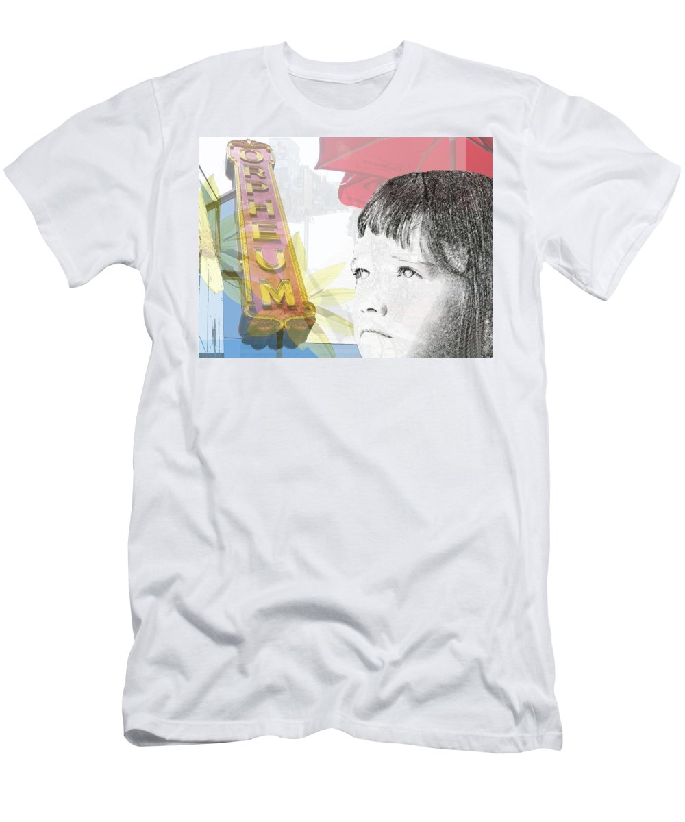 Memphis Men's T-Shirt (Athletic Fit) featuring the photograph Dreams Of Memphis by Amanda Barcon