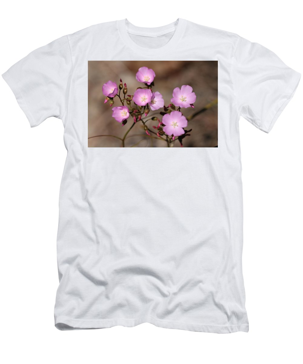 Drosera Menziesii Men's T-Shirt (Athletic Fit) featuring the photograph Drosera Menziesii by Michaela Perryman