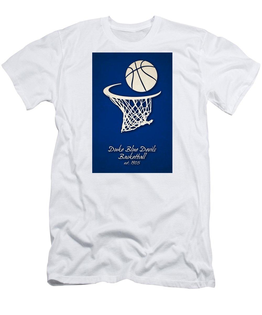 Duke Blue Devils Basketball T Shirt For Sale By Joe Hamilton