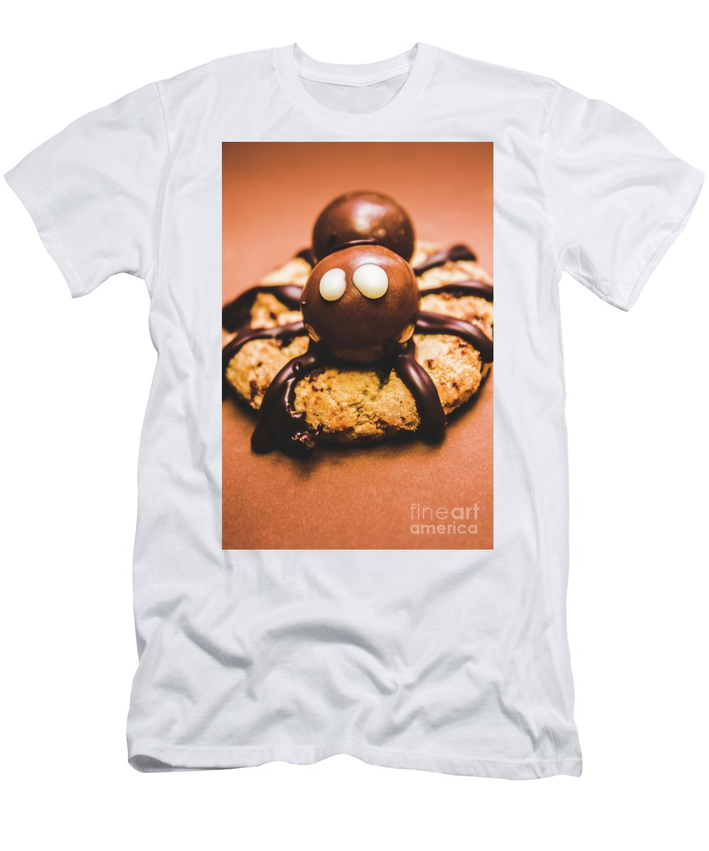 Bake T-Shirt featuring the photograph Eerie Monsters. Halloween Baking Treat by Jorgo Photography - Wall Art Gallery