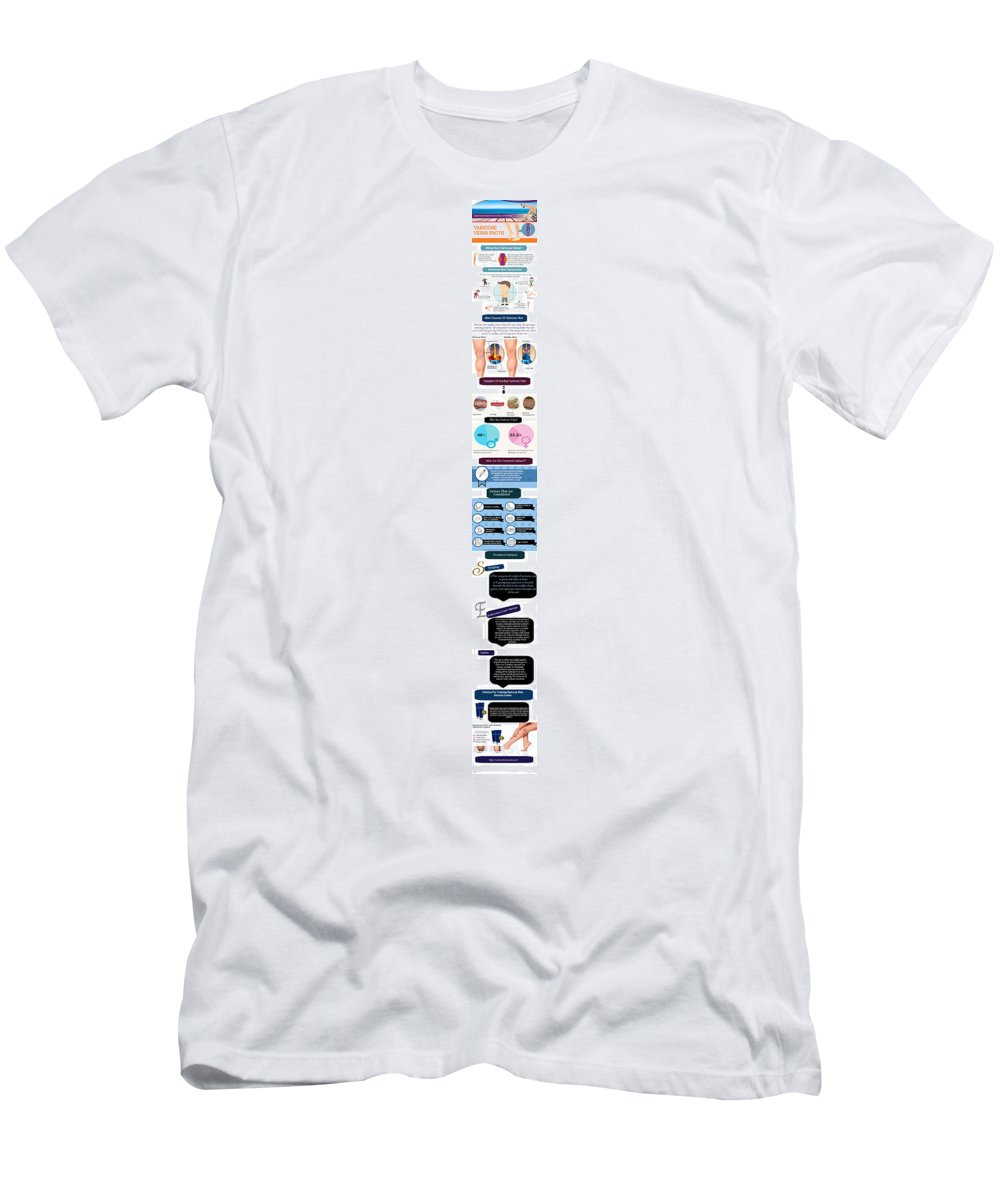 Cure For Varicose Vein T-Shirt featuring the digital art Effective Remedies To Treat Varicose Vein Discomfort by Edwards Paul