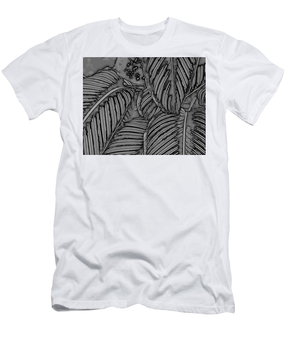 Graphic Design Men's T-Shirt (Athletic Fit) featuring the digital art Elegance by Heidi Fickinger