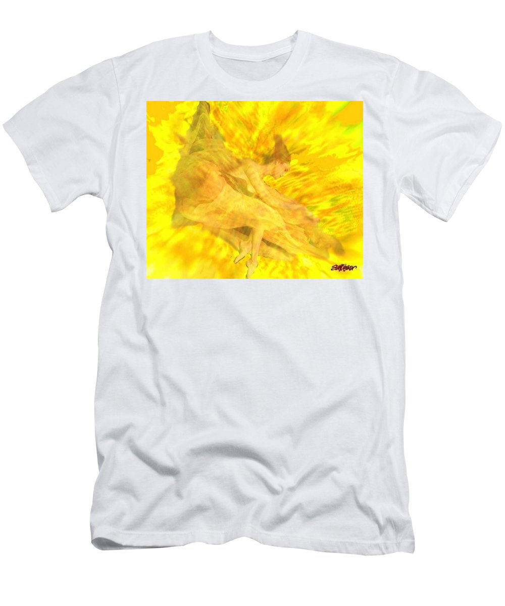 Joy Men's T-Shirt (Athletic Fit) featuring the digital art Endless Joy by Seth Weaver
