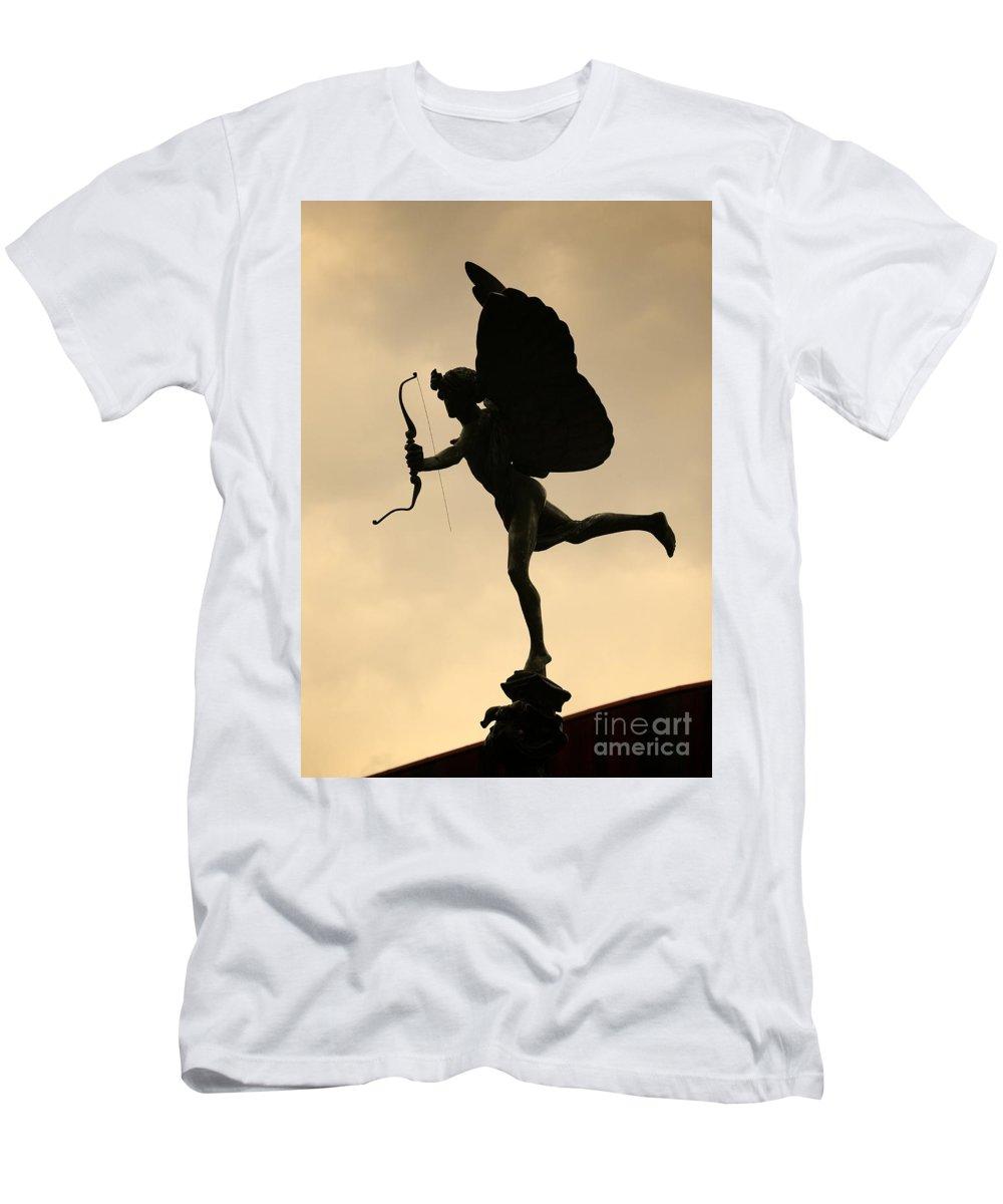 Eros Men's T-Shirt (Athletic Fit) featuring the photograph Eros by Chris Dutton