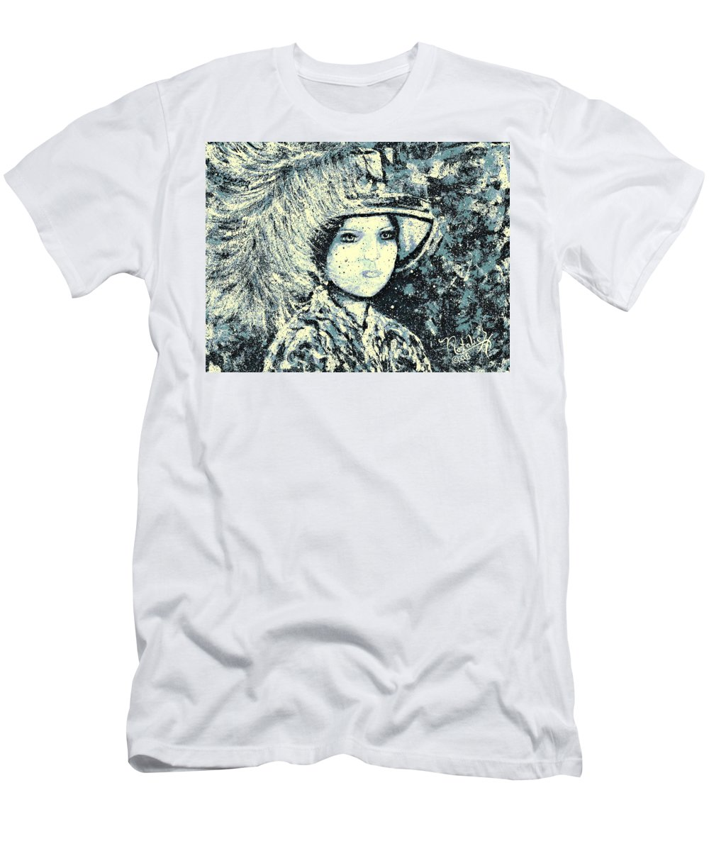 Woman T-Shirt featuring the painting Evalina by Natalie Holland