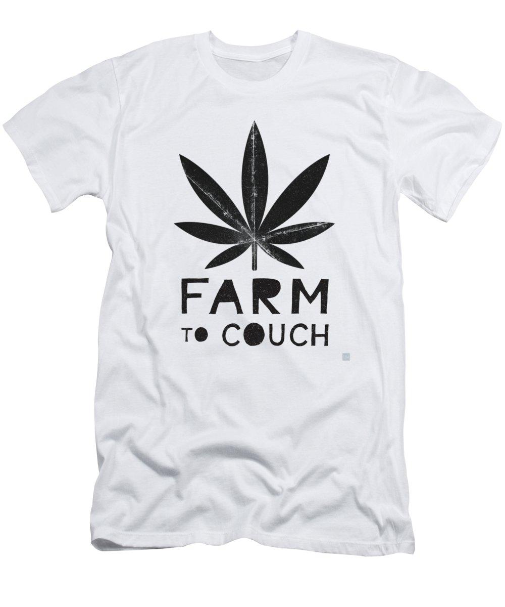 Leaf Mixed Media T-Shirts
