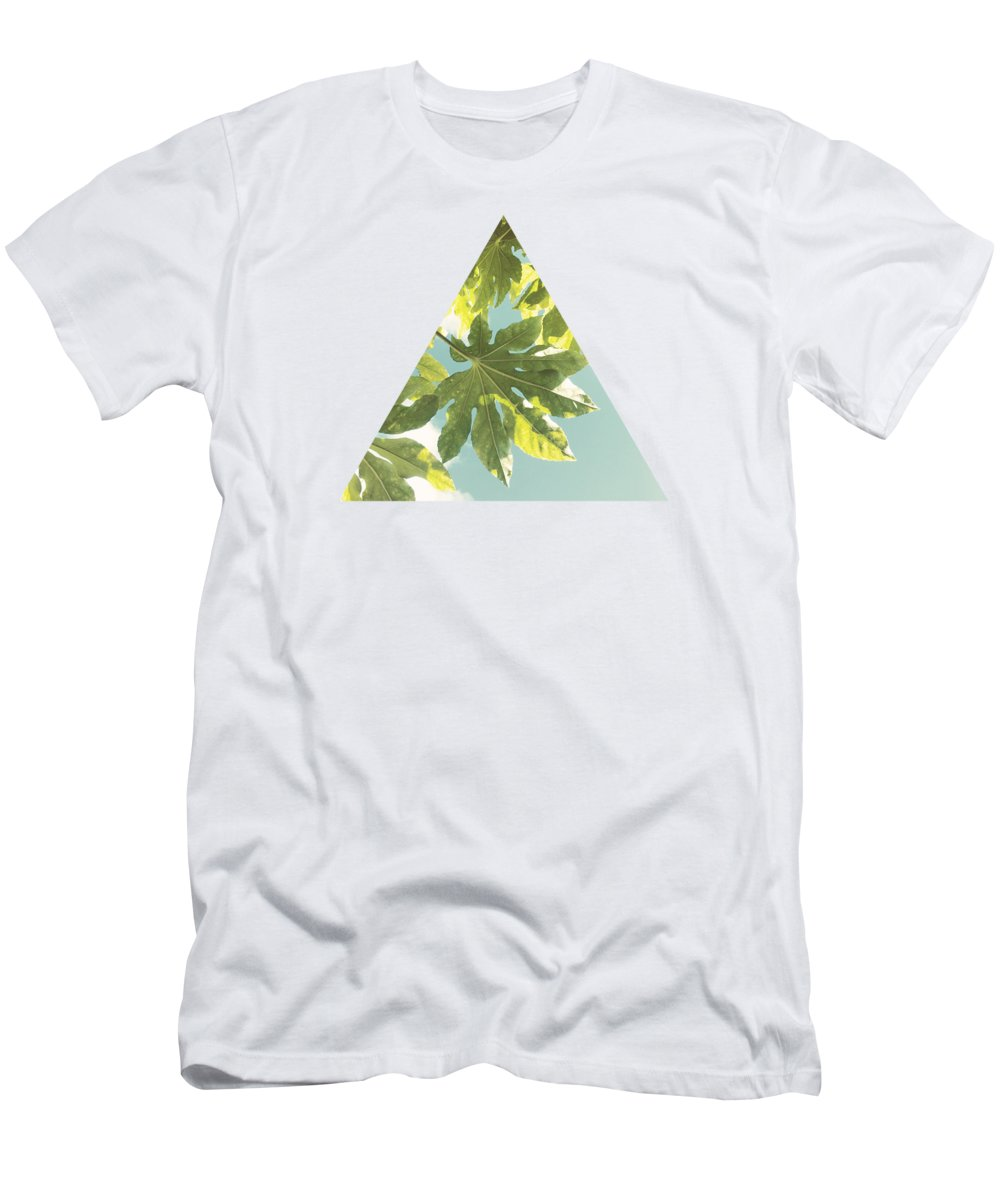 Fig Leaves T-Shirt featuring the photograph Fig Leaves by Cassia Beck