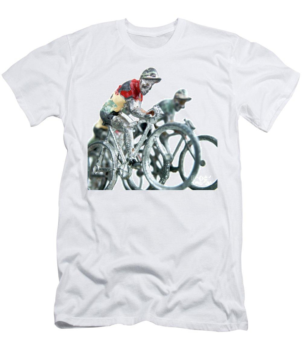 Align Men's T-Shirt (Athletic Fit) featuring the photograph Figurines by Bernard Jaubert