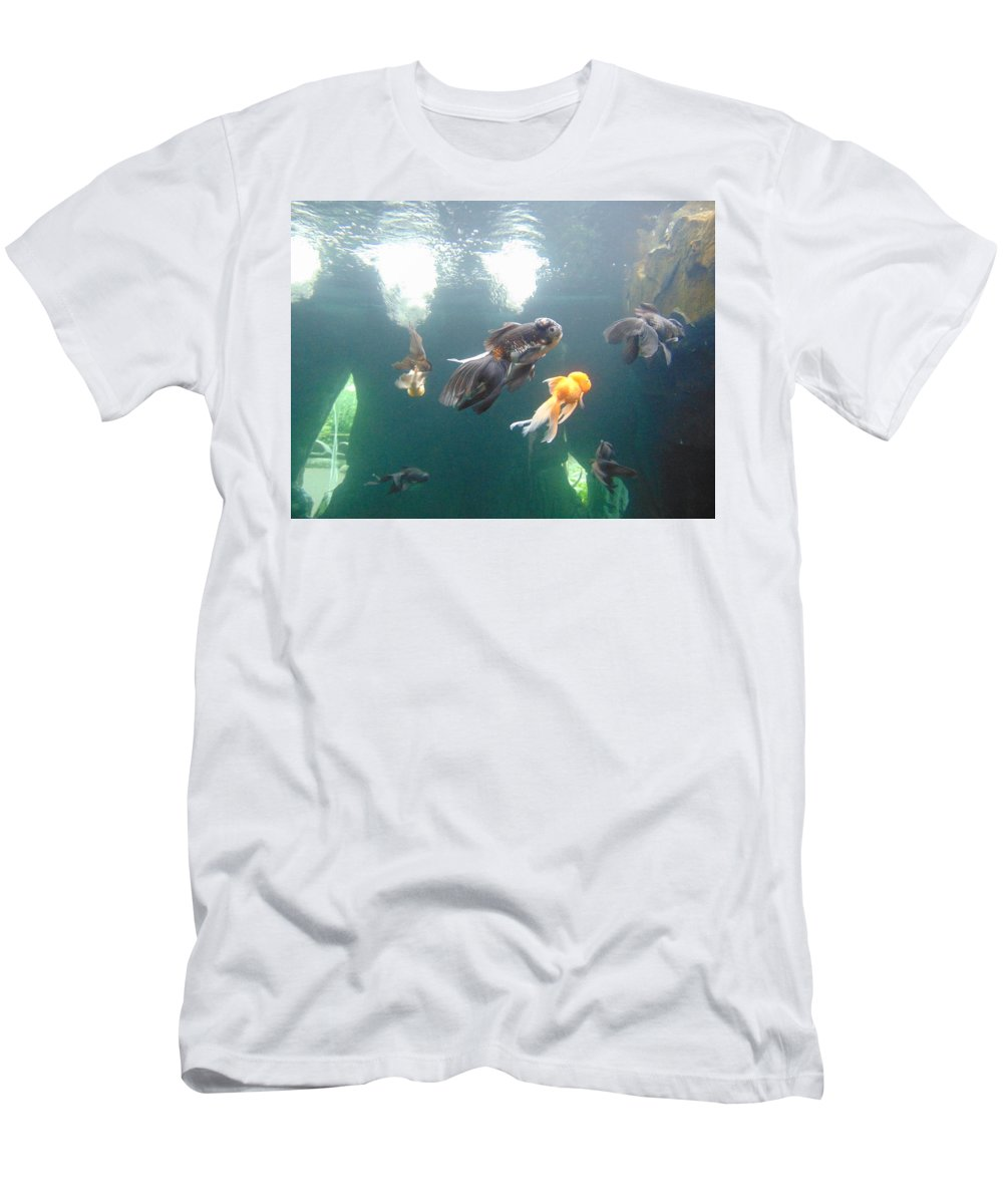 Fish Men's T-Shirt (Athletic Fit) featuring the photograph Fish by Susy Wilkinson