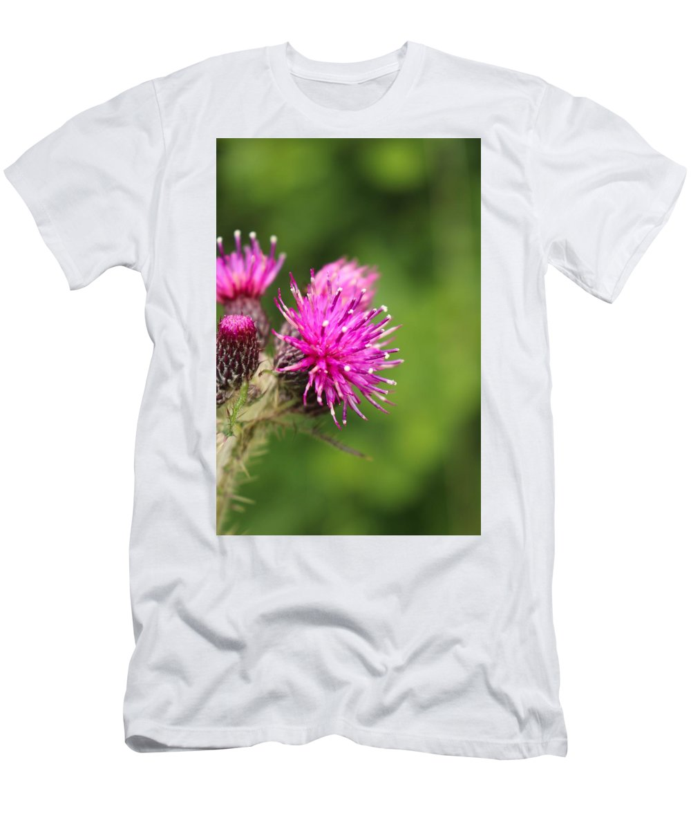 Nature Men's T-Shirt (Athletic Fit) featuring the photograph Flower 3 by Lisa Spero