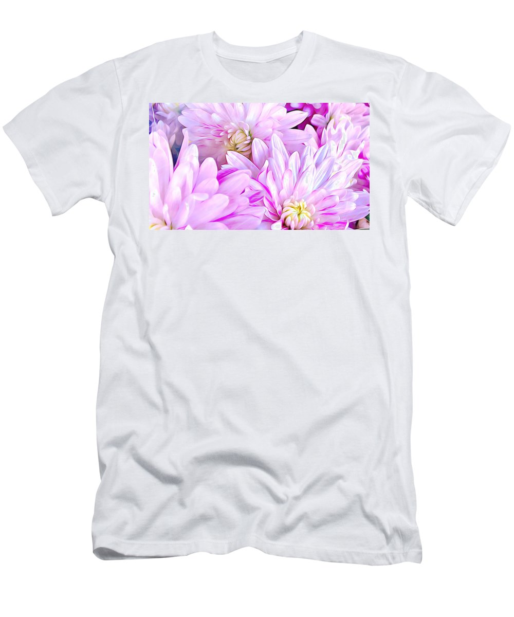 Flower Men's T-Shirt (Athletic Fit) featuring the digital art Flower by Divine Kanza