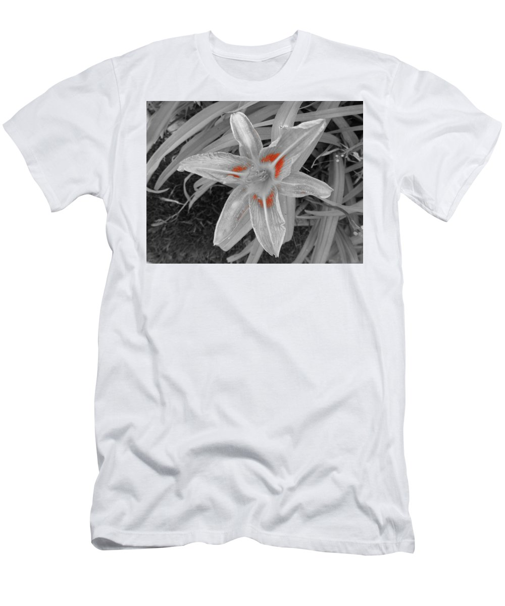 Men's T-Shirt (Athletic Fit) featuring the photograph Flower by Richard Brooke