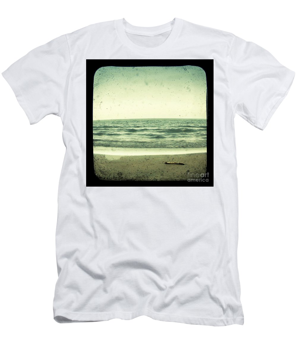 Ttv Men's T-Shirt (Athletic Fit) featuring the photograph Forget Yesterday by Dana DiPasquale