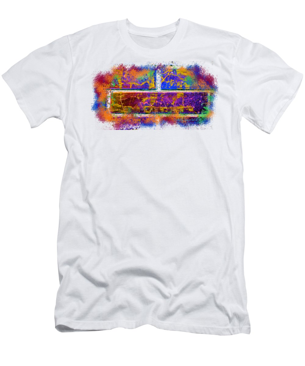 Forgive Men's T-Shirt (Athletic Fit) featuring the digital art Forgive Transparent Background by Tamara Kulish