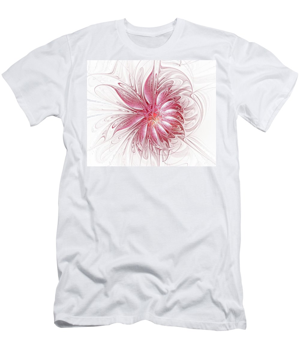 Digital Art Men's T-Shirt (Athletic Fit) featuring the digital art Fragile by Amanda Moore