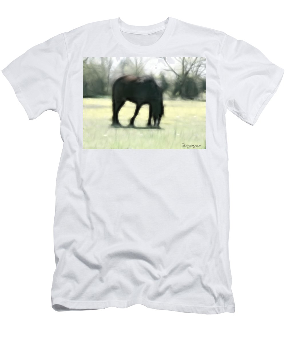 Tn Men's T-Shirt (Athletic Fit) featuring the photograph Friend Of Distinction by Ericamaxine Price
