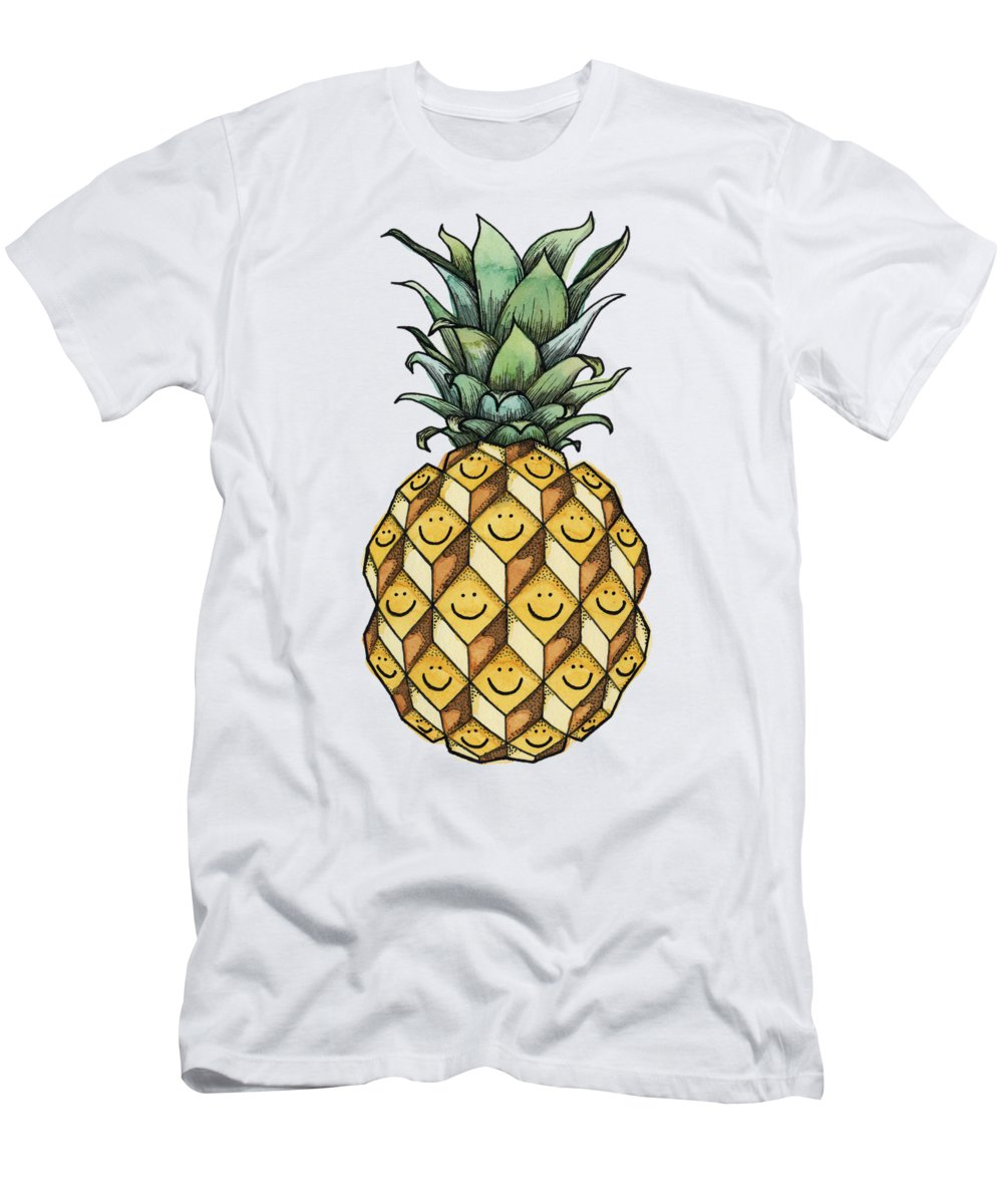 Pineapple Slim Fit T-Shirts