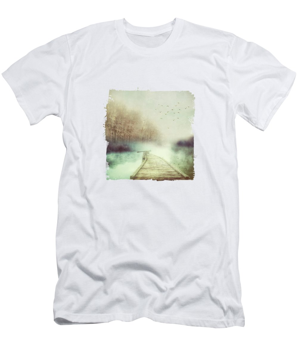 Future Men's T-Shirt (Athletic Fit) featuring the digital art Future by Katherine Smit